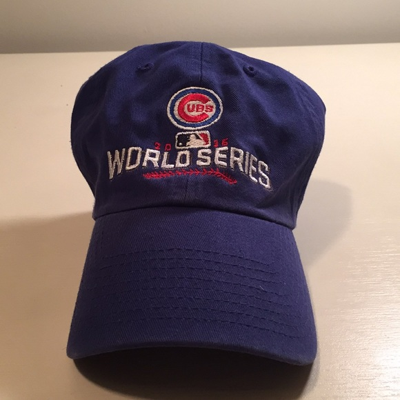 47 Brand Chicago Cubs World Series Baseball Cap 7252e000906